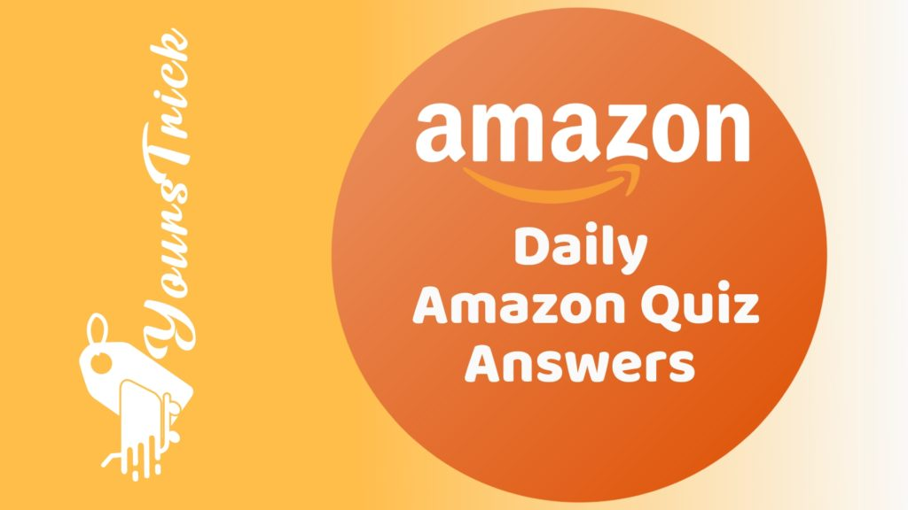 Amazon Quiz 21 April, Amazon quiz today answers , amazon morning quiz, daily amazon quiz answers today, today's Amazon quiz answer, amazon quiz 21st April 2020 answers today win awesome prizes.