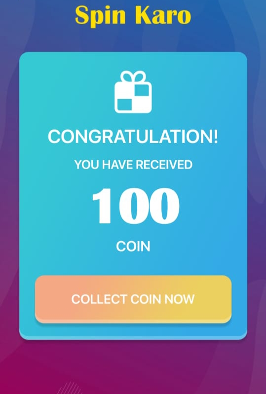 Spin Karo App Download - Spin & Earn | Rs.5 per Referral