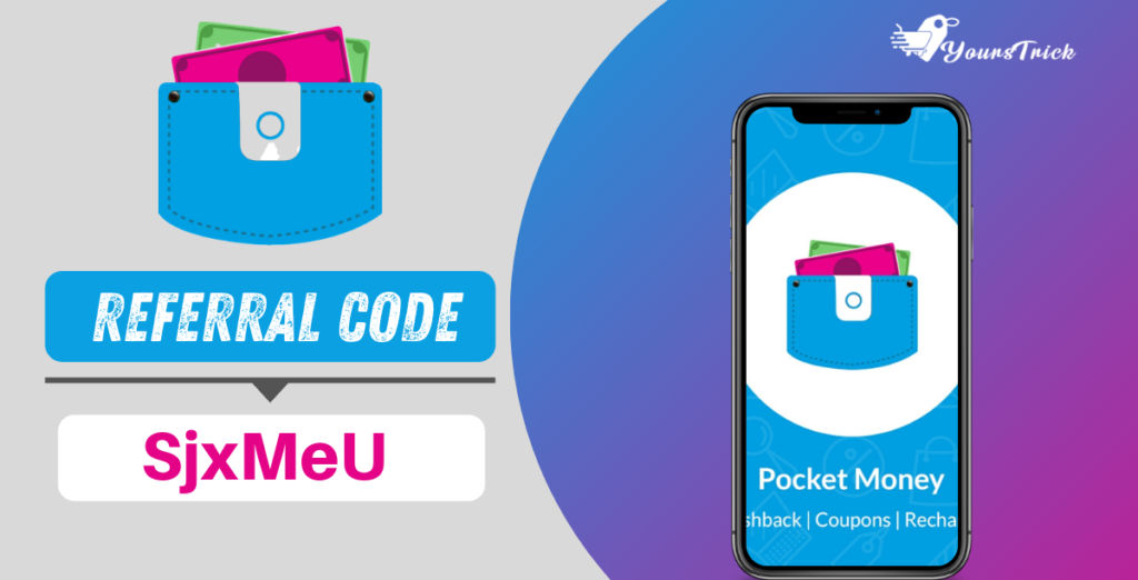 View Pocket Money App Referral Code Background