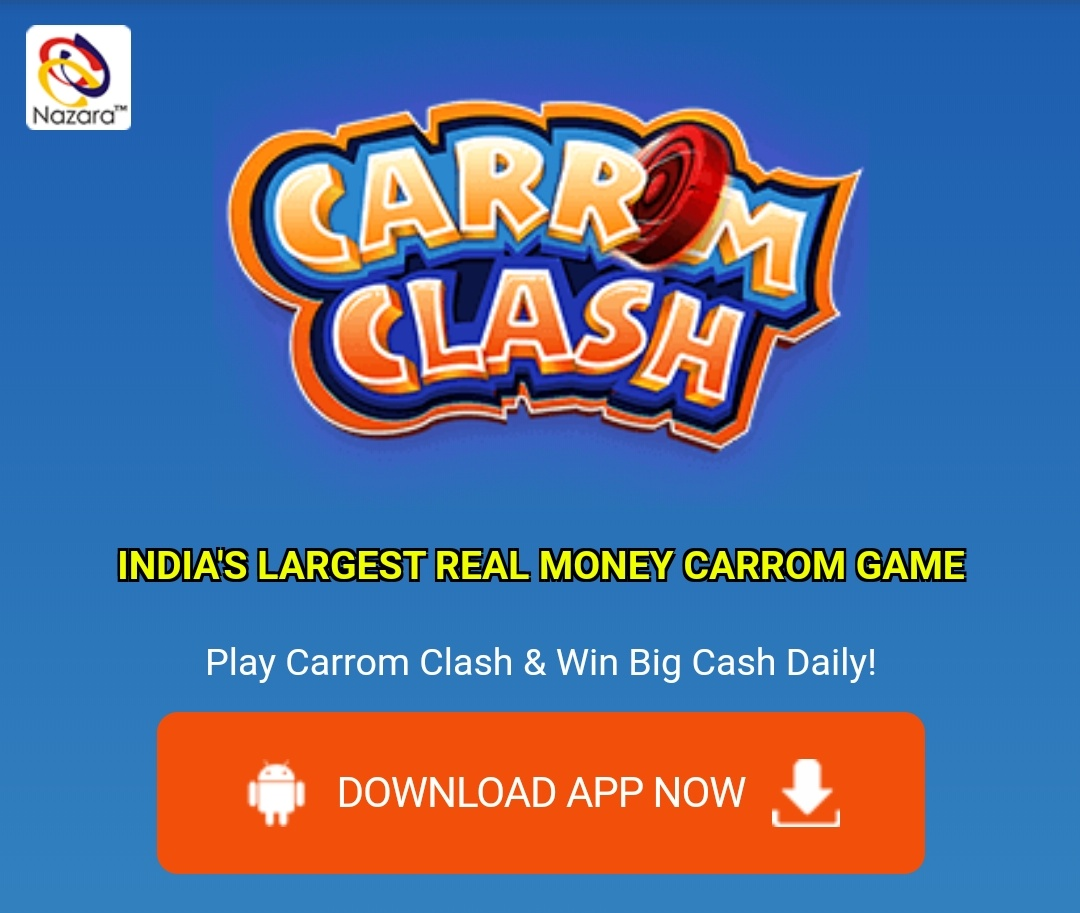 Download CARROM CLASH App  - A Real Money Carrom Game