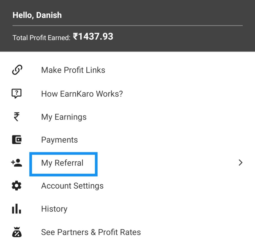 EarnKaro - Rs.50 on Sign Up, Rs.50 Per Refer, Affiliate Earning, Referral Code