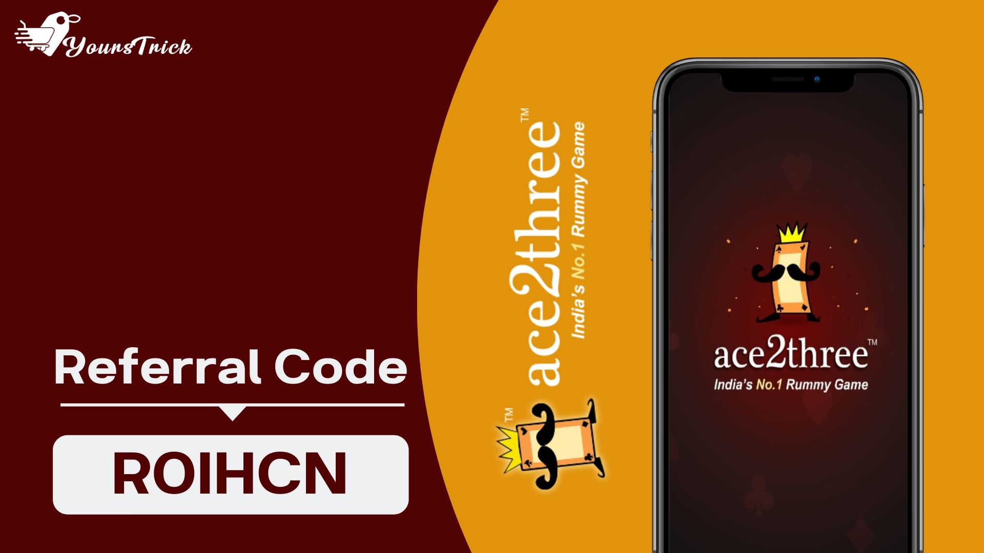 Ace2three Referral Code -  Refer & Earn Rs.12000 | Apk Download