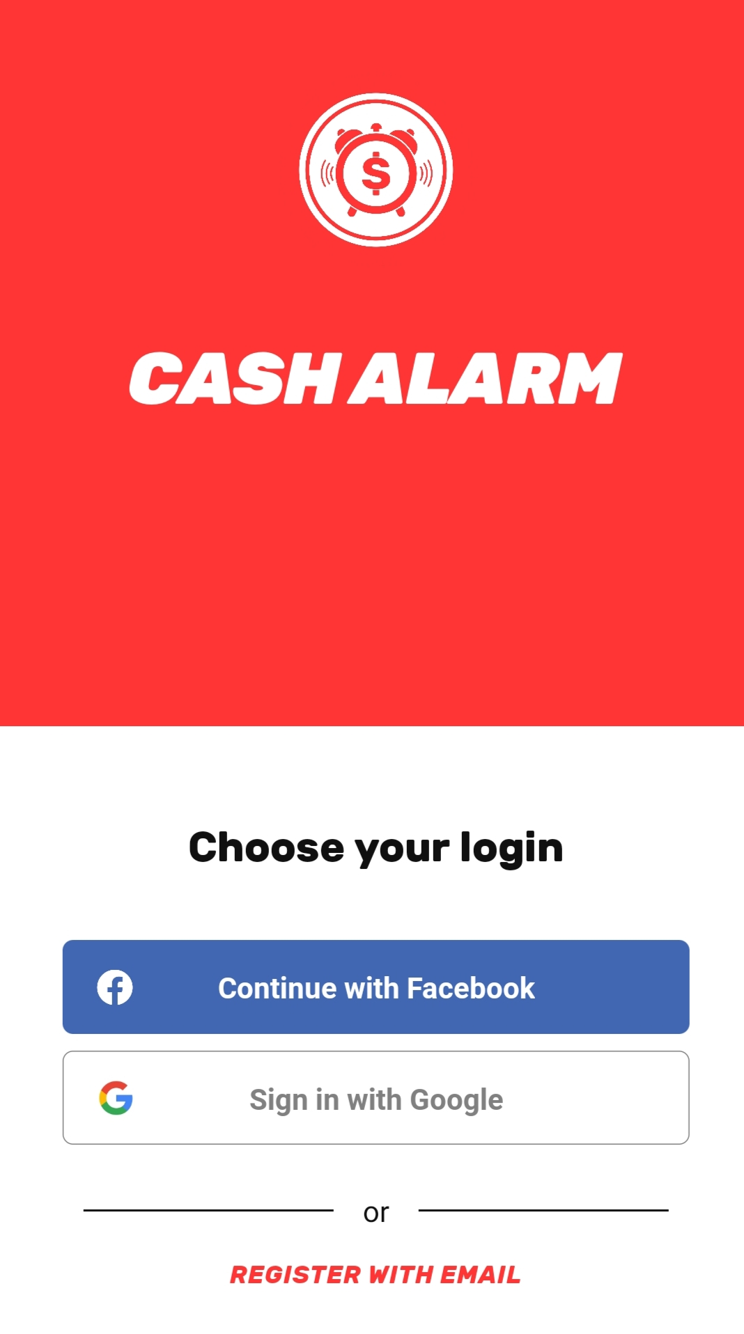 Cash Alarm App - Get ₹65 On Signup | PayPal Earning
