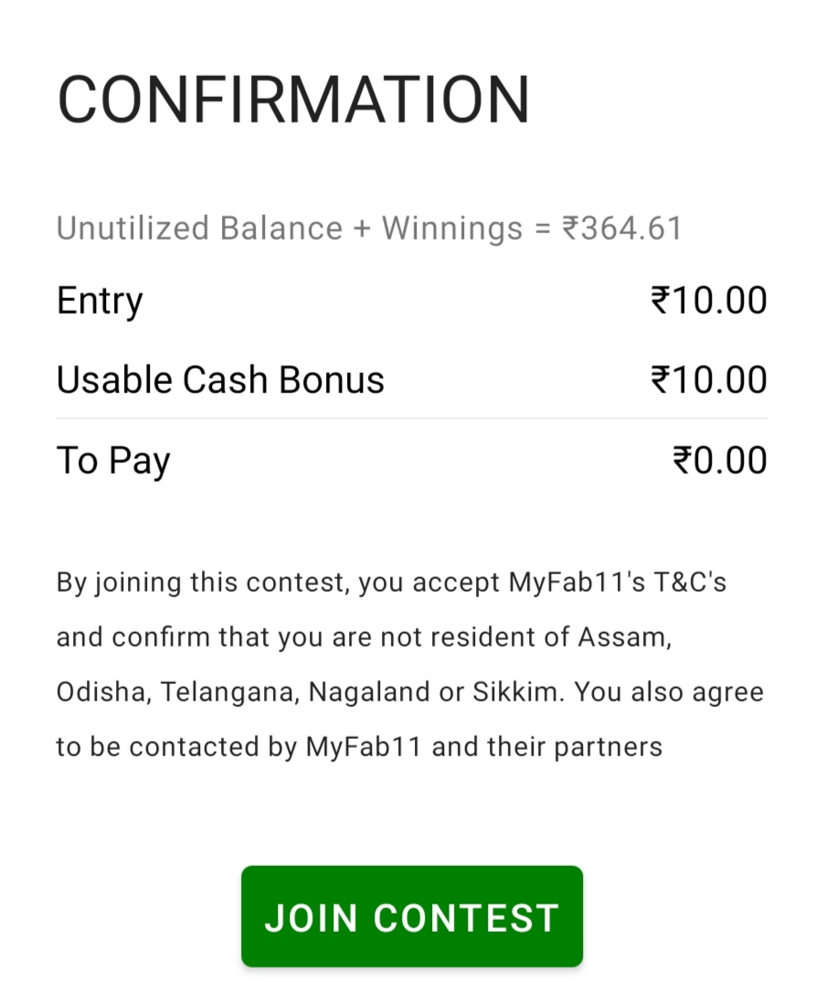 MyFab11 Referral Code | Refer & Earn Lifetime | MyFab11 Apk Download