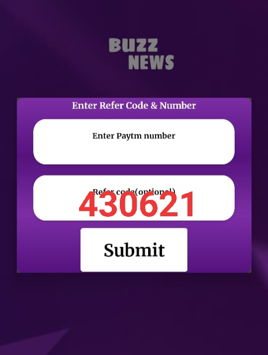 Buzz News - Get ₹5 On Signup + ₹5/Refer [Free Paytm]