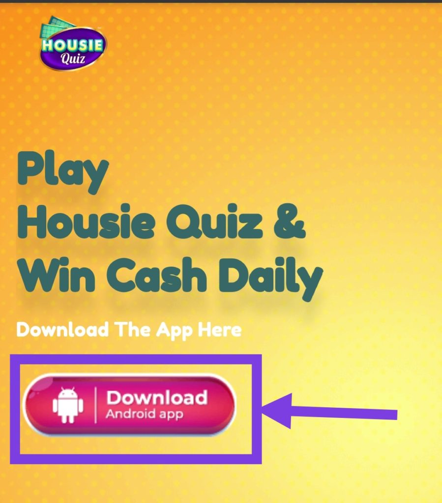Housie Quiz App | Housie Quiz Apk Download | Housie Quiz Referral Code | Housie Quiz Promo Code