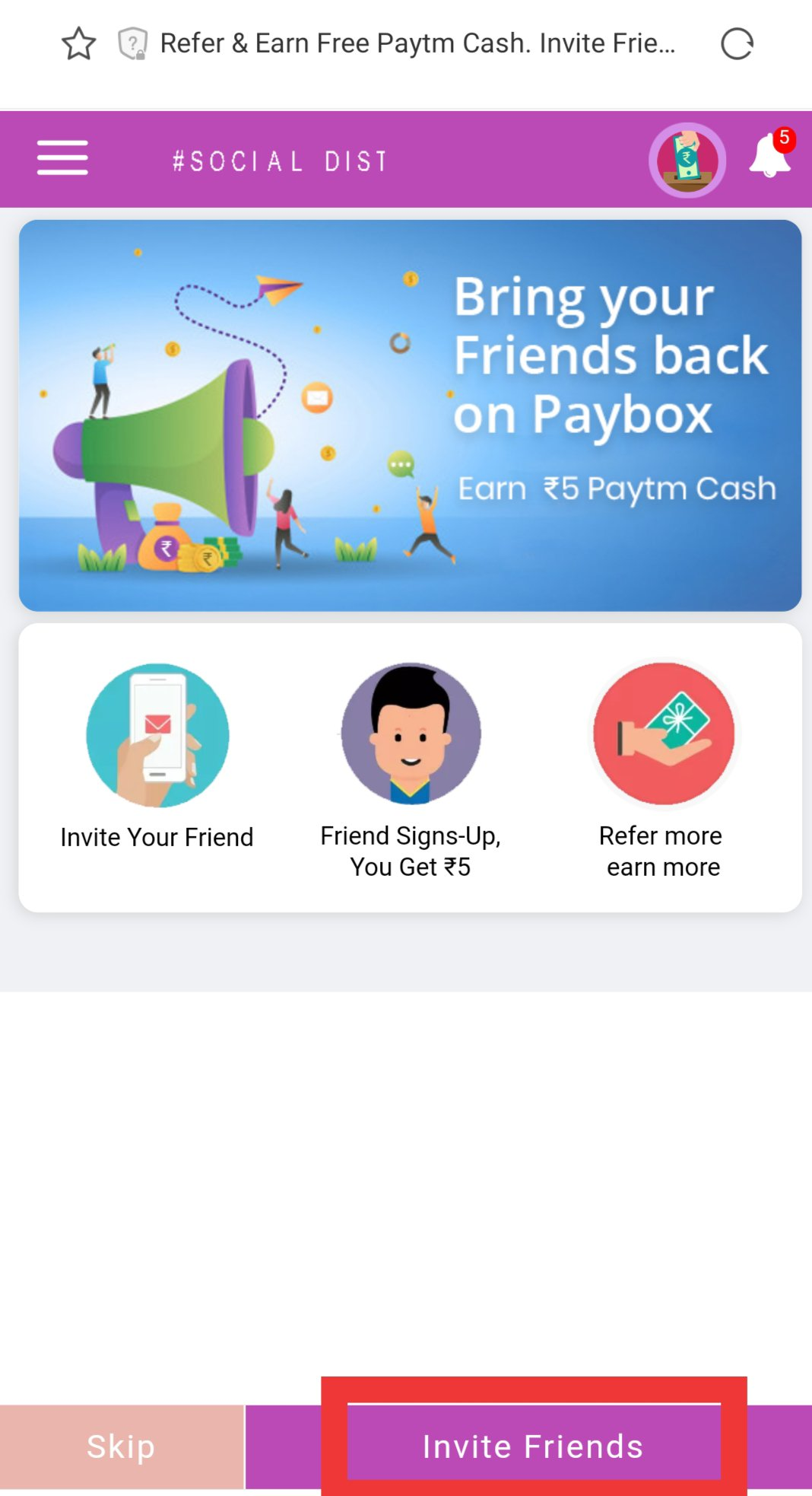 Paybox Refer and Earn Offer | Paybox Login | Paybox App