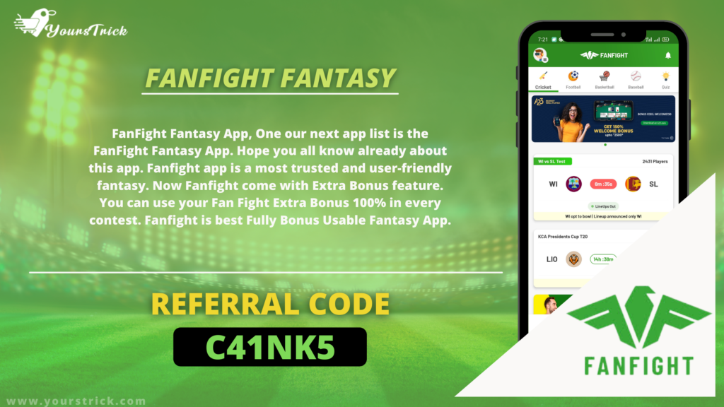 FanFight Fantasy Referral Code